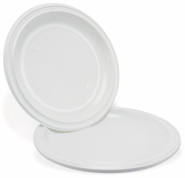 Einweg-Teller, Ø 22 cm, 12 Stück - Produktbild 3