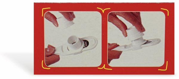 Reibe ALPINA, weiß - Produktbild 4
