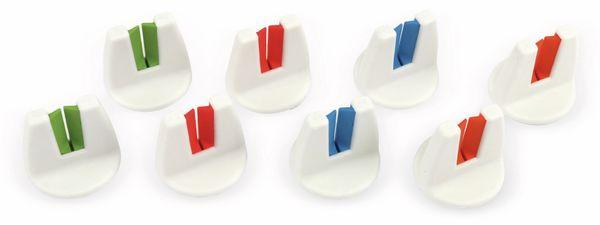 Handtuchhalter-Set, 8 Stück - Produktbild 1