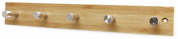 Wandregal, Bambus, 5 Haken - Produktbild 2