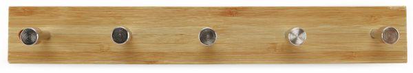 Wandregal, Bambus, 5 Haken - Produktbild 3