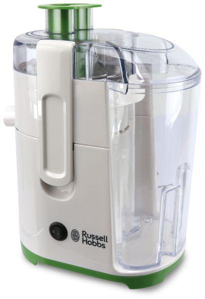 Russell Hobbs Explore Entsafter 22880-56, weiß/grün, 400W - Produktbild 1