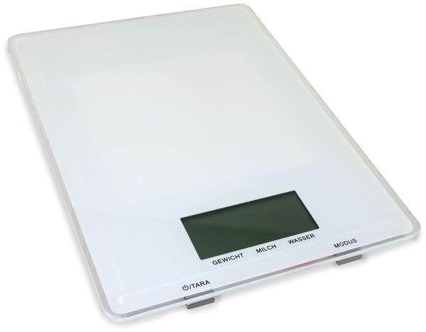 Digitale Küchenwaage, GT-KSg-04 weiß - Produktbild 1