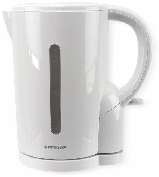 Wasserkocher DUNLOP, weiß, 1,7L, 230V~ - Produktbild 1