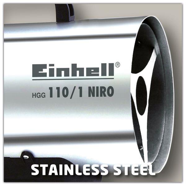 Heißluftgenerator EINHELL HGG 110/1 Niro - Produktbild 2