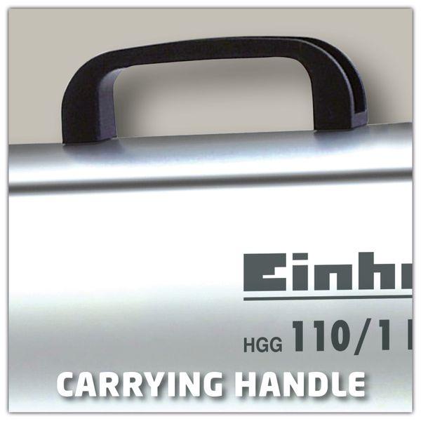 Heißluftgenerator EINHELL HGG 110/1 Niro - Produktbild 3
