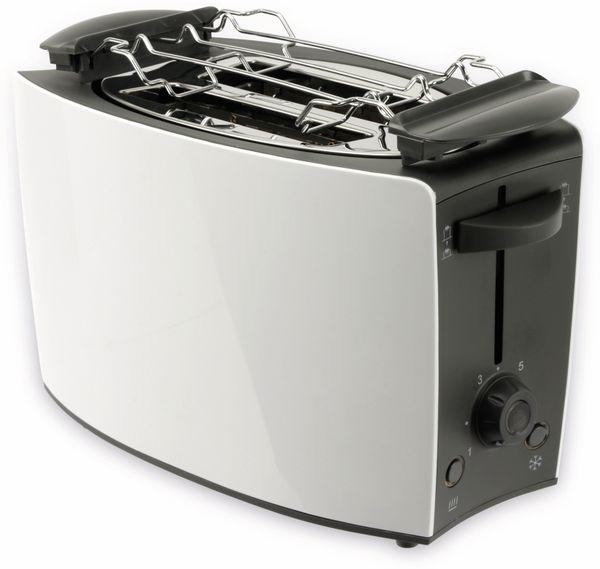 Doppelschlitz, Toaster, TR-Tds-03, weiß, 800 W