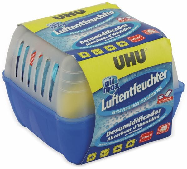 Luftentfeuchter Nachfüllbeutel UHU 47240/21, 3x450g - Produktbild 4