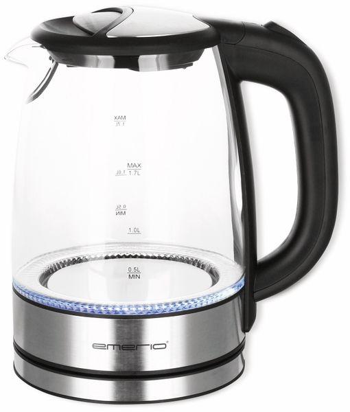 Wasserkocher EMERIO WK-119988,1,7 l, 2200 Watt
