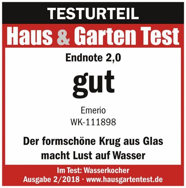 Wasserkocher EMERIO WK-111898.10,1,5 l, 2200 Watt - Produktbild 4