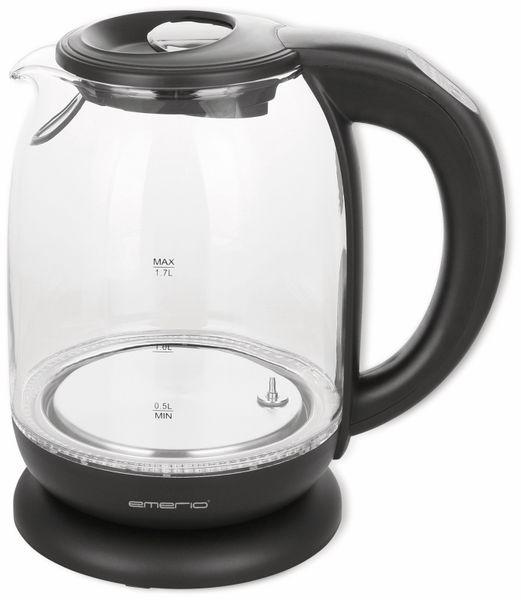 Wasserkocher EMERIO WK-119255,1,7 l, 2200 Watt