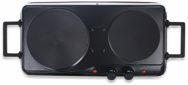 Doppelkochplatte EMERIO HP-114482.1, 2500 W, schwarz - Produktbild 2