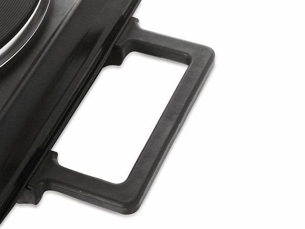 Doppelkochplatte EMERIO HP-114482.1, 2500 W, schwarz - Produktbild 4