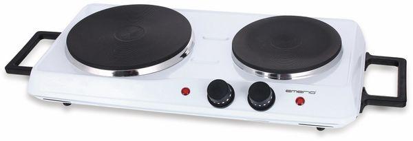 Doppelkochplatte EMERIO HP-114482, 2500 W, weiß