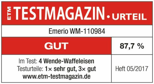 Waffelautomat EMERIO WM-110984, 1000 W - Produktbild 3