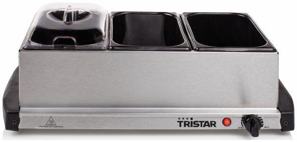 Buffetwärmer TRISTAR BP-2979, 3x 1,5 L Kapazität, Warmhalteplatte - Produktbild 1