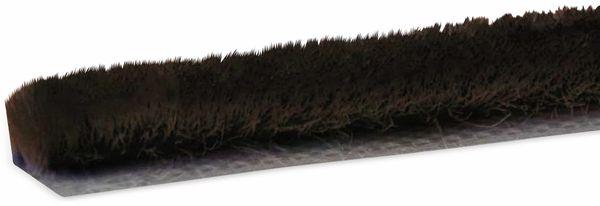 Bürstendichtung selbstklebend, 5 m, braun
