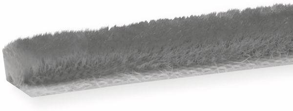 Bürstendichtung selbstklebend, 5m, grau