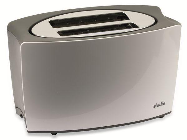 Doppelschlitz, Toaster, TR-Tds-04, weiß, 800 W - Produktbild 1
