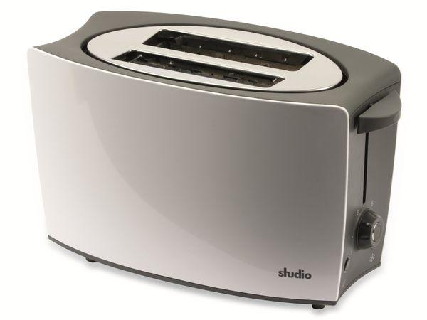 Doppelschlitz, Toaster, TR-Tds-04, weiß, 800 W - Produktbild 2