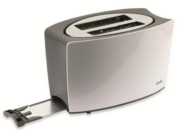 Doppelschlitz, Toaster, TR-Tds-04, weiß, 800 W - Produktbild 5