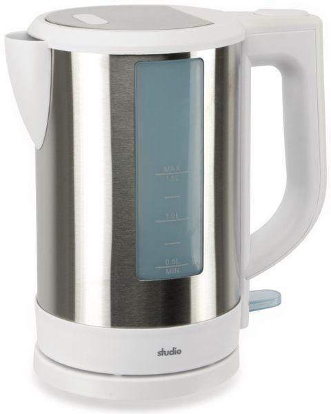 Wasserkocher, TR-WKeds-03, 1,5L, 2850W, weiß - Produktbild 1