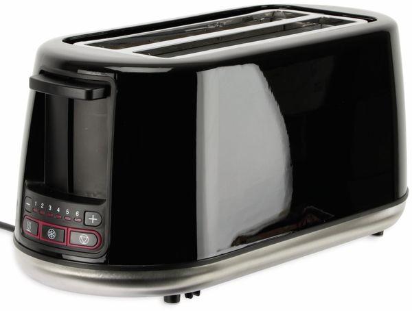 Doppellangschlitz, Toaster, TR-Tdls-e-01, schwarz