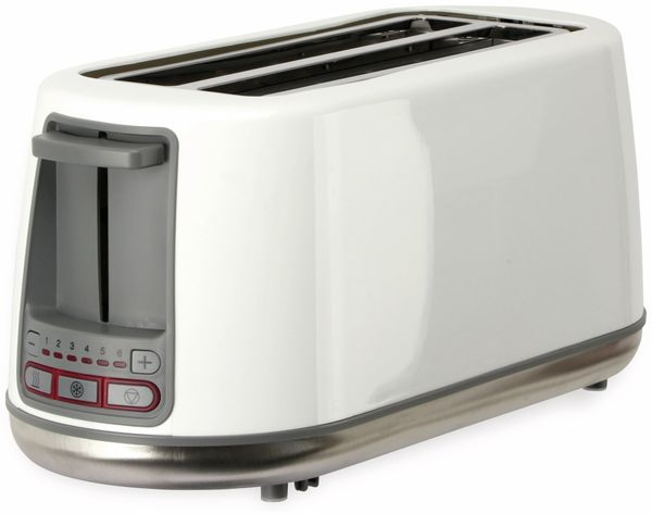 Doppellangschlitz, Toaster, TR-Tdls-e-01, weiß