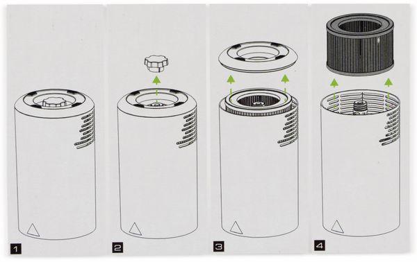 Luftfilter, SOEHNLE, für Airfrehs Clean 300, B-Ware - Produktbild 3