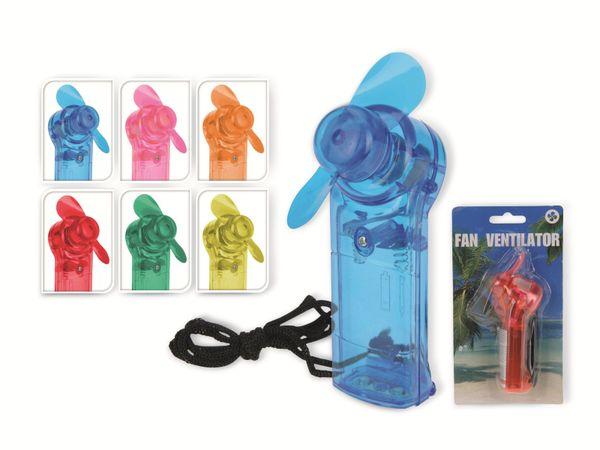 Mini-Ventilator, Batteriebetrieb, verschiedene Farben