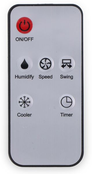 Luftkühler, 62 W, 270 m³/h, inkl. 2 Kühlakkus, Timerfunktion, Fernbedienung - Produktbild 5
