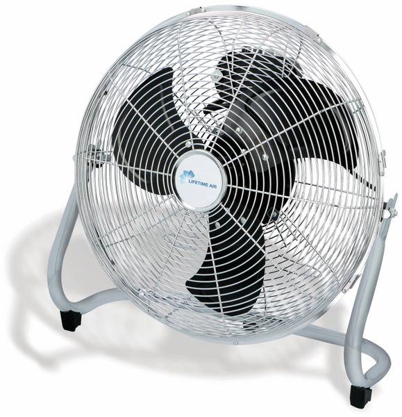 Bodenventilator, 40 cm, 100 W, chrome
