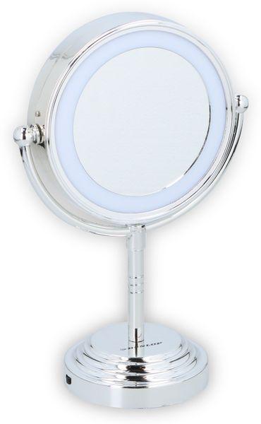 Kosmetikspiegelleuchte DUNLOP, LED Ø150 mm, batteriebetrieb
