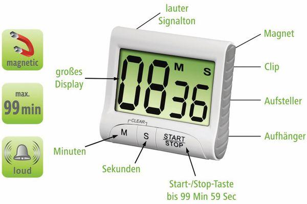 Küchentimer XAVAX Countdown, digital - Produktbild 4