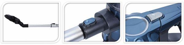Handstaubsauger VC808-3, Beutellos, 600 Watt - Produktbild 2