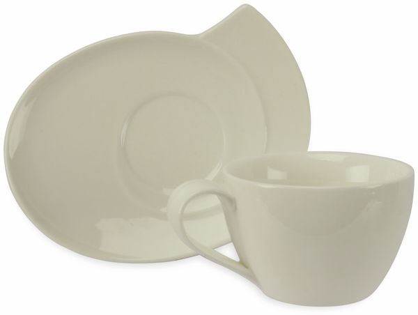 Milchkaffetassen-Set, CROFTON, 2 Stück - Produktbild 2