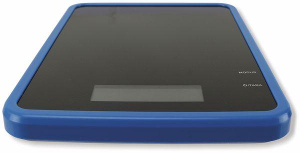 Digitale Haushaltswaage, TR-KSg-09, blau - Produktbild 2