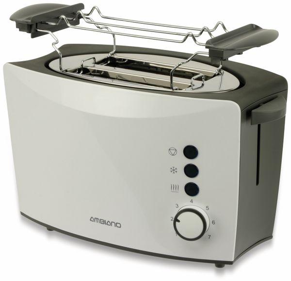 Doppelschlitz, Toaster, TR-Tds-05, weiß, 800 W, B-Ware