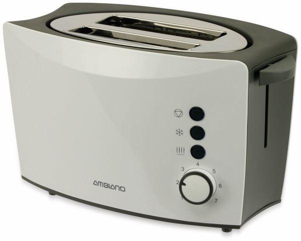 Doppelschlitz, Toaster, TR-Tds-05, weiß, 800 W, B-Ware - Produktbild 2