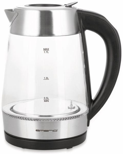 Wasserkocher EMERIO WK-122227, Glas, 2200 W