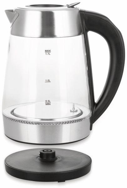 Wasserkocher EMERIO WK-122227, Glas, 2200 W - Produktbild 2