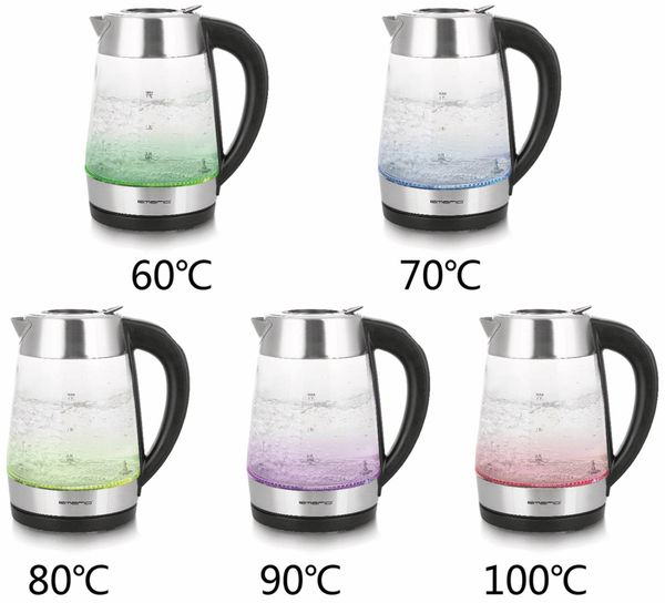 Wasserkocher EMERIO WK-122227, Glas, 2200 W - Produktbild 5