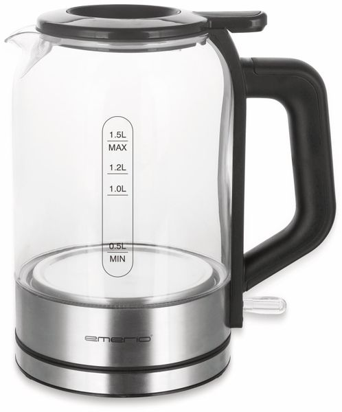 Wasserkocher EMERIO WK-122574, Glas, 2200 W