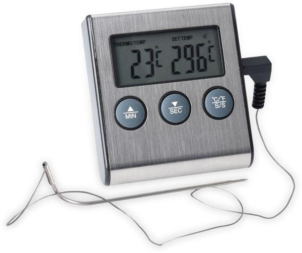 Digitales Grill-Thermometer mit Einstichsonde