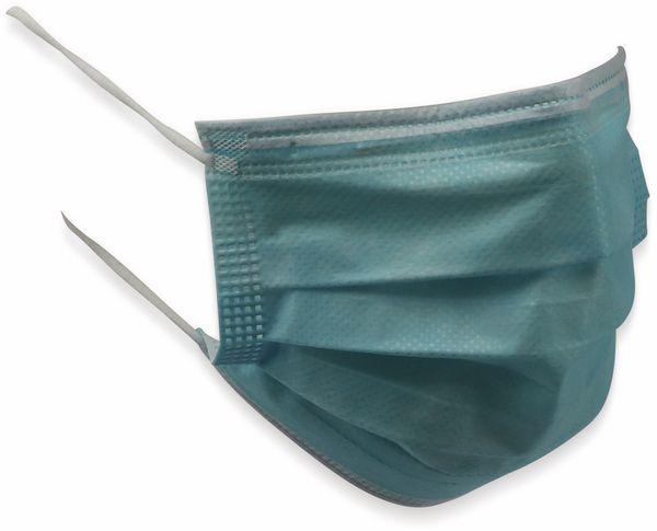 50er Pack Einweg-Schutzmasken, 3-lagig mit Ohrschlaufen - Produktbild 4
