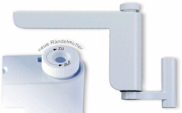 Mini-Türschließer, Clip Close, weiß
