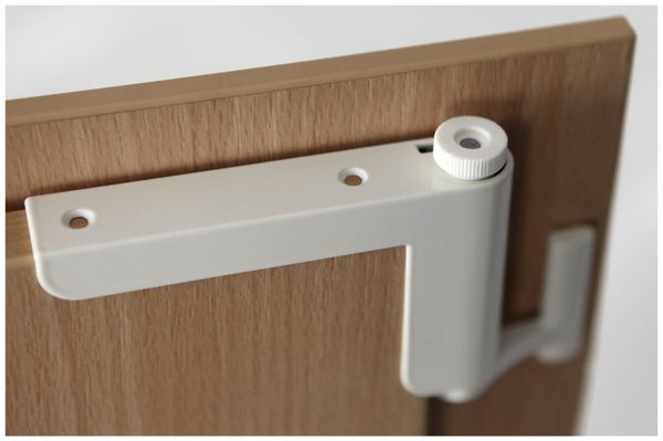 Mini-Türschließer, Clip Close, weiß - Produktbild 2