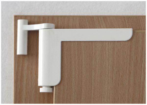 Mini-Türschließer, Clip Close, weiß - Produktbild 3