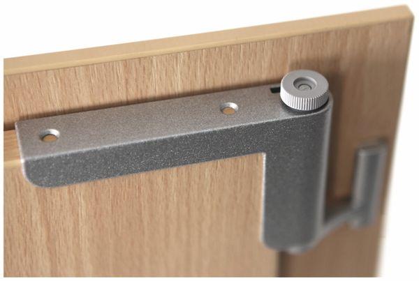 Mini-Türschließer, Clip Close, silber - Produktbild 2