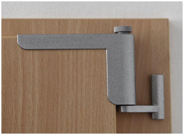 Mini-Türschließer, Clip Close, silber - Produktbild 6